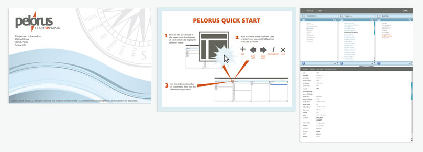 Pelorus Software User Interface Design